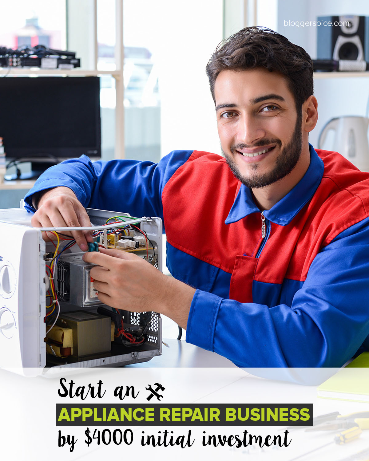 Start an appliance repair business by $4000 initial investment?