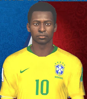 PES 2017 Faces Pelé by Facemaker Huseyn