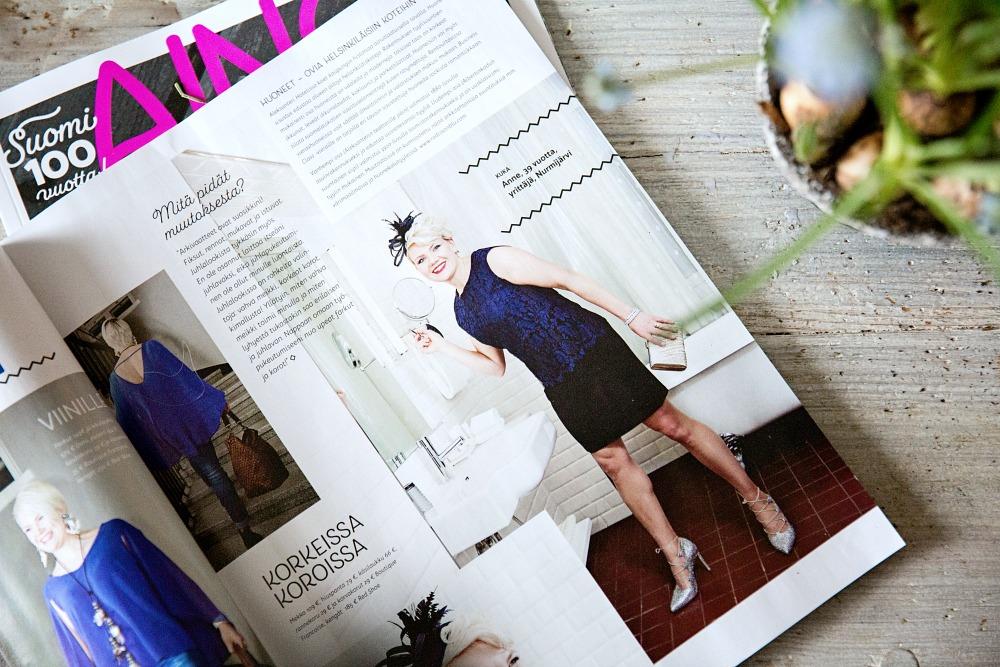 Aino-lehti, naistenlehti, muoti, fashion, julkaisu, uusi lehti, Aino, Suomi 100, muutosleikki, suomalainen nainen, keski-ikäinen, nainen