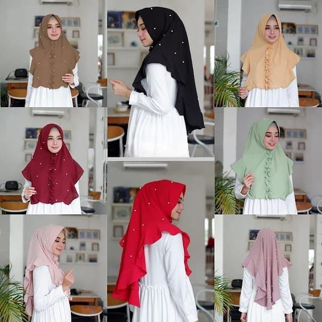 Jilbab Instan ANNA Pearly MUTIARA