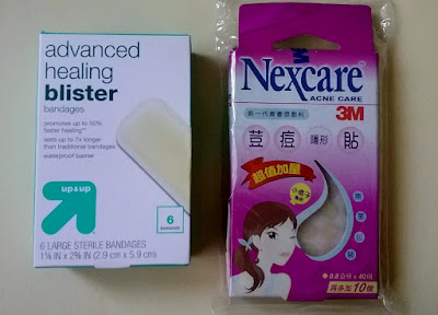 3M Nexcare Acne Patches Target up&up Hydrocolloid bandages