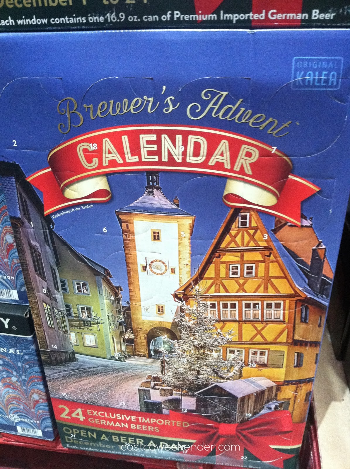 Enjoy a diverse collection of beers during Christmas with the Brewer's Advent Calendar