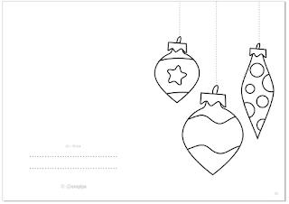 BOLAS DE NAVIDAD: Tarjeta de Navidad GRATIS / CHRISTMAS BALLS: Christmas Card FREE @evacreando