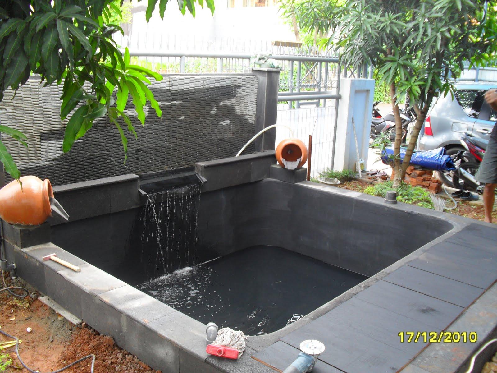 kolam hias kolam ikan koi kolam minimaliskolam relief