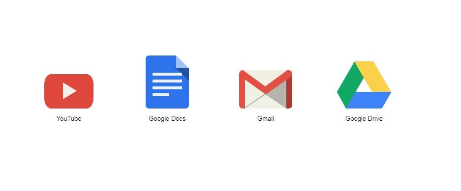 Free pure CSS google logos - codepen - sookbit