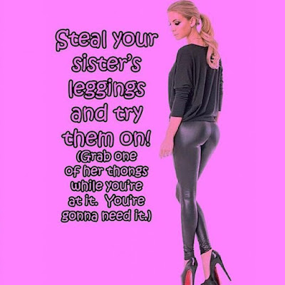 Try on your sister leggings Sissy TG Caption - Hard TG Caps - Crossdressing and Sissy Tales and Captioned images