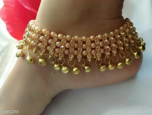 Attractive Alloy Women's Anklet