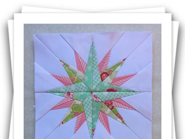 Chatelaine- Free BOW Sampler Quilt Block 83