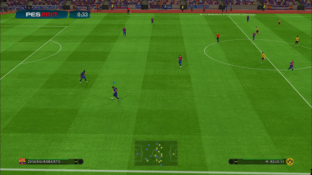 PES 2017 PS4 ModGreen V2 dari Arrow & Alirezafree