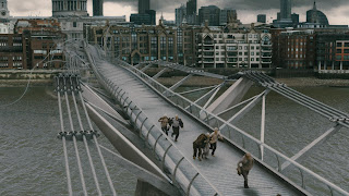 Millenium Bridge no filme do Harry Potter