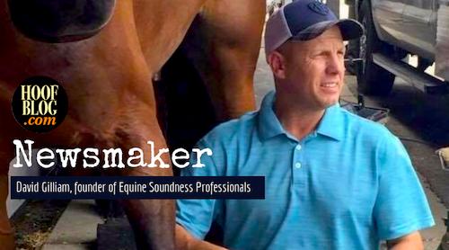 David Gilliam, founder of Equine Soundness Professionals