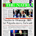NIGERIA NEWSPAPERS: TODAY'S THE NATION NEWSPAPER HEADLINES [14 FEBRUARY, 2018].