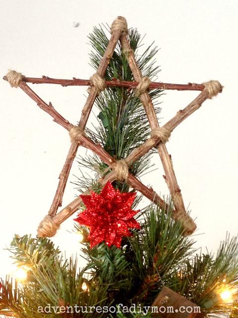 Twig Star Christmas Tree Topper