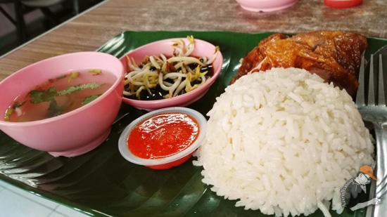 Gambar Nasi Ayam Hainan