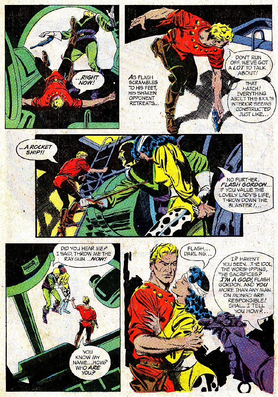 Flash Gordon v4 #5 1960s silver age science fiction comic book page art by Al Williamson