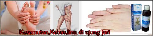 obat kebas kesemutan linu di jari tangan dan kaki