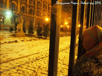 зима в Питере