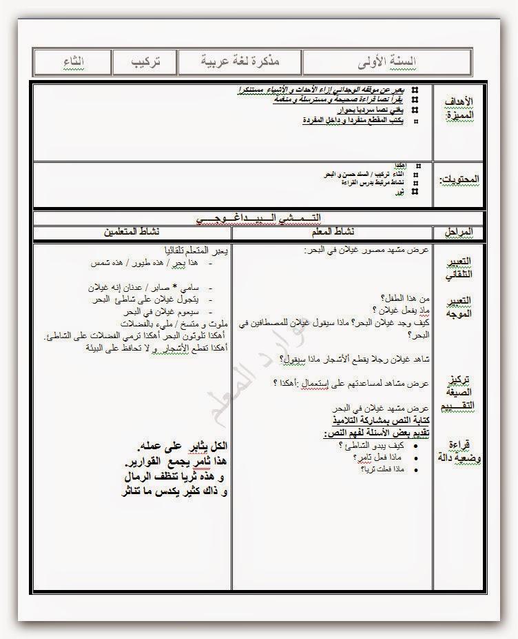 Ash 2014.09.24 08h27m58s 025 Document%2BMicrosoft%2BWord - مجموعة هامة من مذكرات اللغة العربية السنة الأولى ..شمول تحليل تركيب