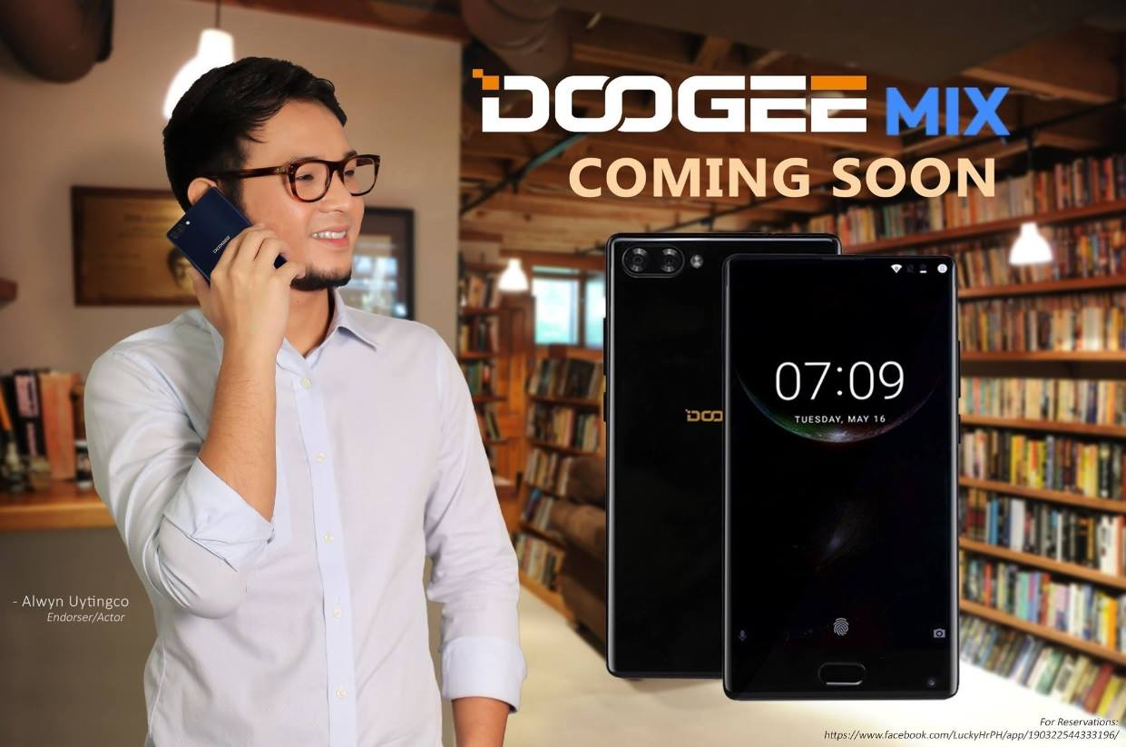 Doogee Mix Now on Pre-Order; Bezel-less Screen, Dual Cameras, 6GB RAM