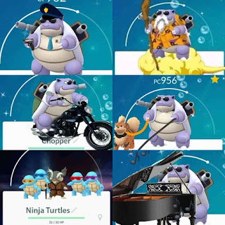 funny Pokemon Go Squirtle squad pictures