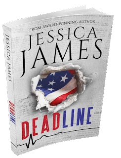 Author Jessica James suspense novel DEADLINE