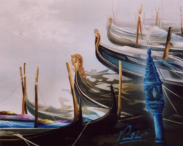 Французский художник. Raymond Poulet 5