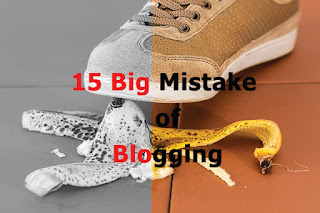 14 big mistake of blogging for beginners