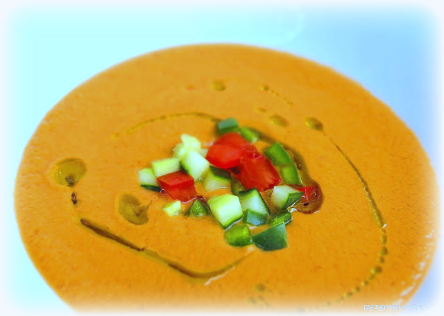 Sommerküche Food With Love : Gazpacho ♡