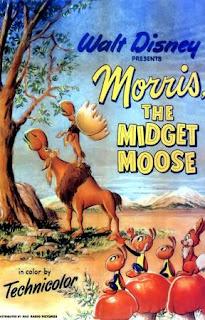 Morris, el alce enano (1950) Animacion de Walt Disney