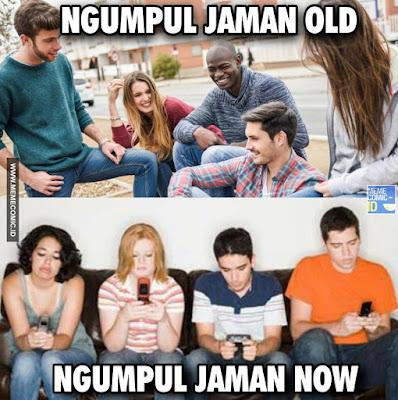 10 Meme 'Jaman Old VS Jaman Now' Ini Kocaknya Malah Bikin Nostalgia