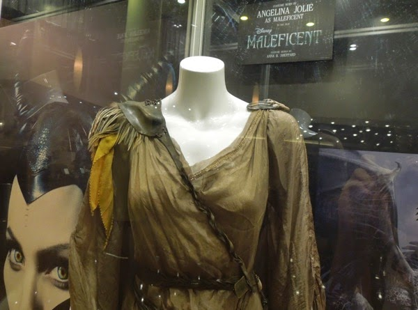Maleficent film costume detail