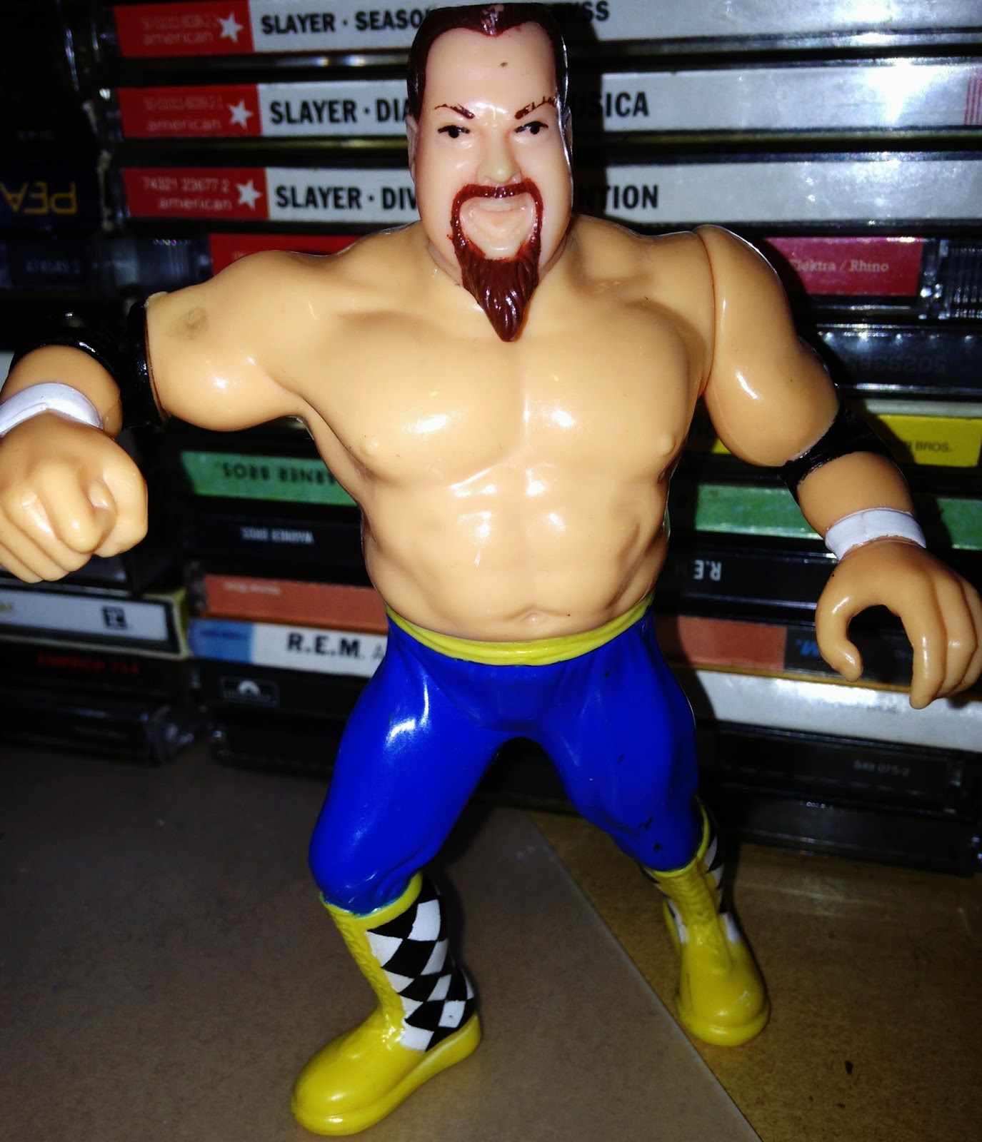 WWF Hasbro Figures - Jim 'The Anvil' Neidhart in New Foundation attire