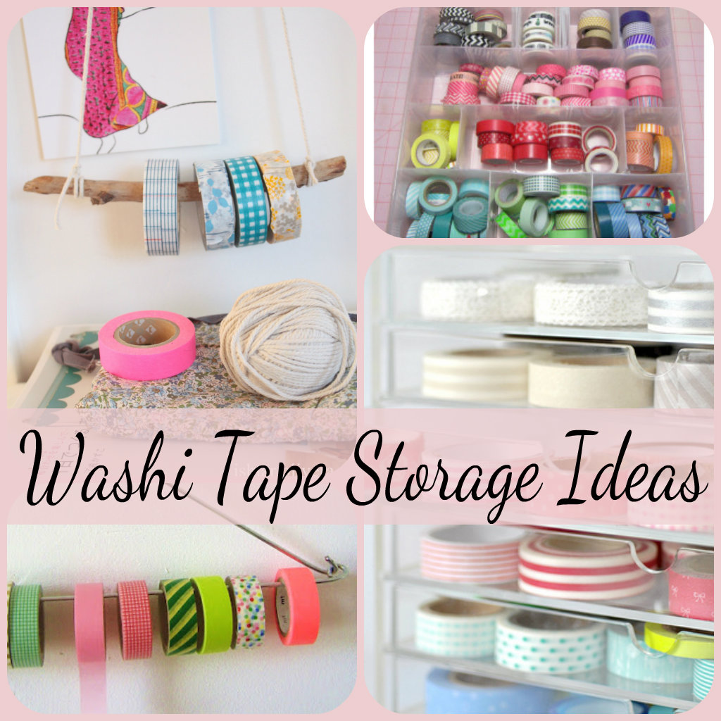 washi tape storage ideas crafting in the rain. Black Bedroom Furniture Sets. Home Design Ideas