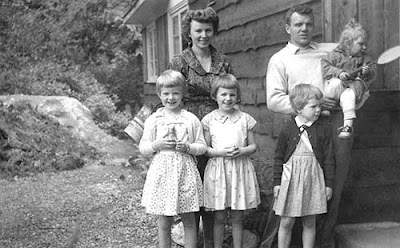 Wilbee family 1961.