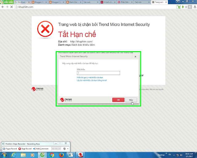 PHẦN MỀM DIỆT VIRUS TREND MICRO INTERNET SECURITY