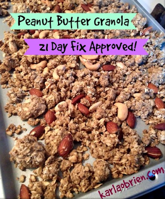 granola, low sugar, diabetes, clean eating, recipes, peanut butter, glycogen storage disease,