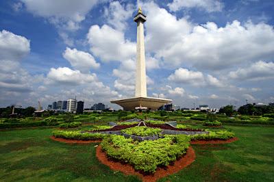Berkunjung Ke Icon Kota Jakarta, Monas (Monumen Nasional)
