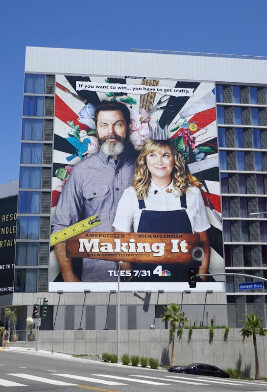 Giant Making It season 1 billboard