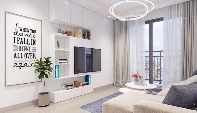 Thiết kế căn hộ 68m2 hiện đại được ưa chuộng nhất năm 2018 - H2