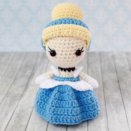 Amigurumi Princess Cinderella - Free Pattern