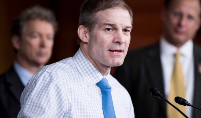 House Freedom Caucus and 15 Former OSU Wrestlers Stand in Support of Jim Jordan Against Revolting Liberal Smear Machine