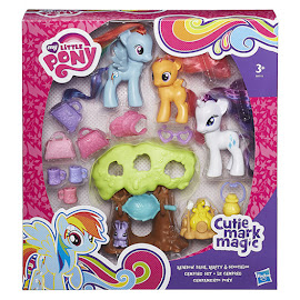 My Little Pony Camping Set Rainbow Dash Brushable Pony