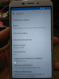 Bypass FRP Asus Zenfone 3