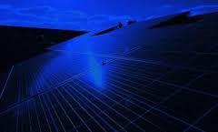 solar panel work at night