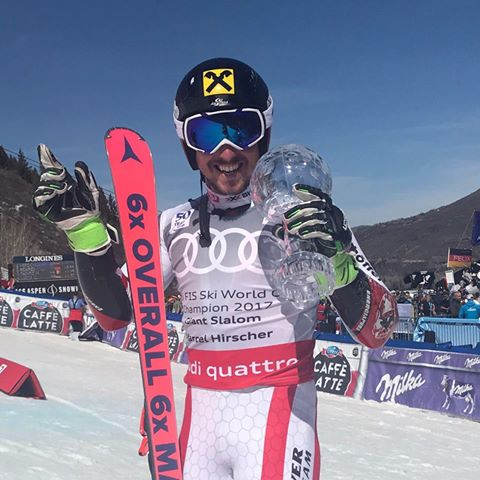 Marcel Hirscher Ends GS Season With a Victory in Aspen