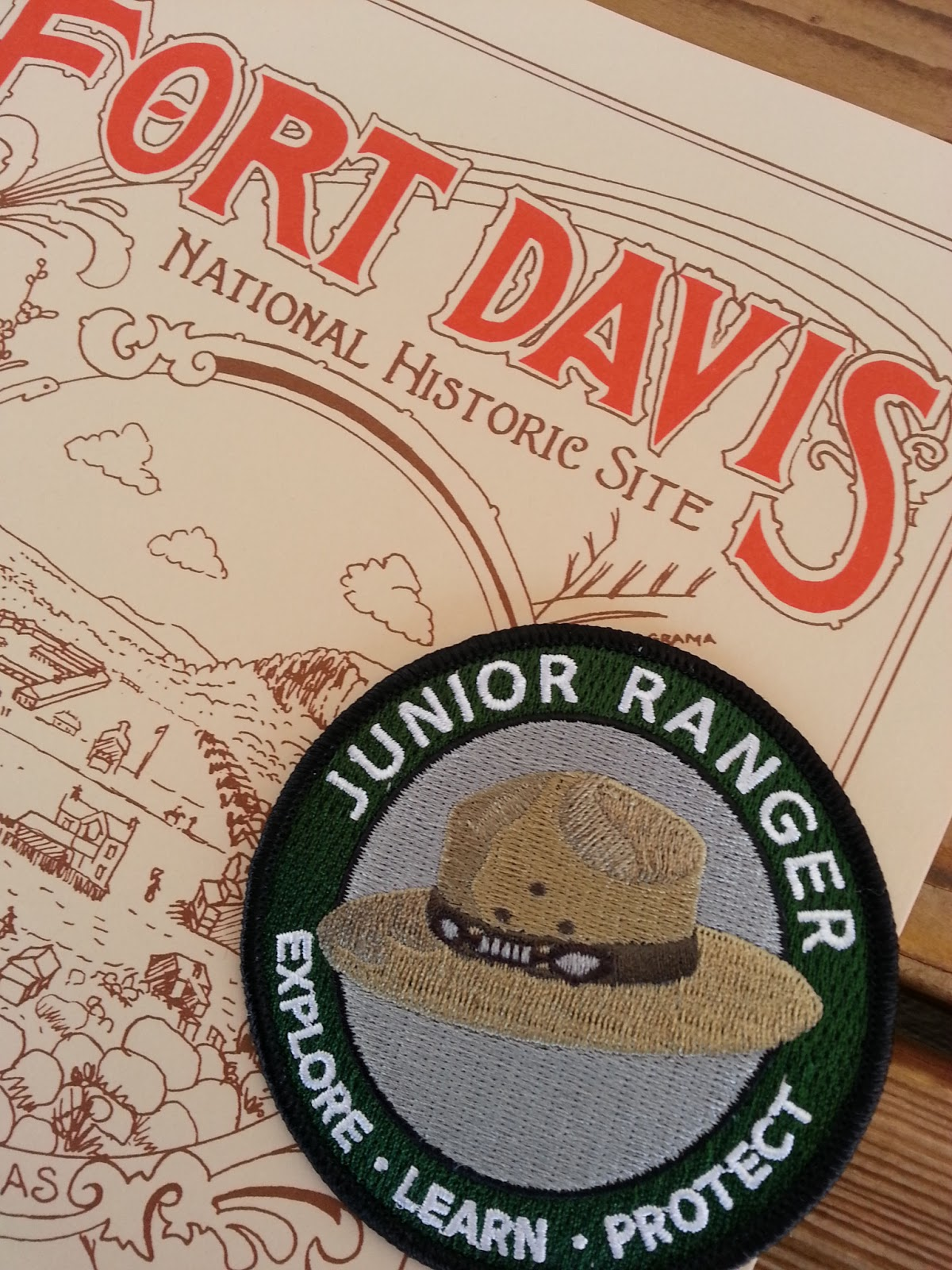 Texas Mountain Trail Daily Photo Junior Ranger Day Fort