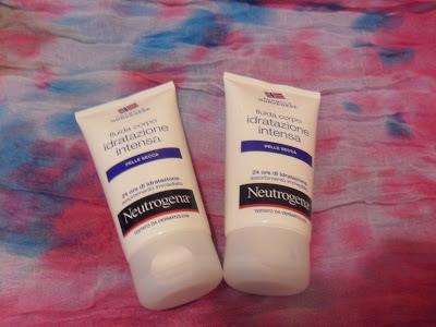 Neutrogena Bagno Doccia : Le passioni di concy crema fluida corpo neutrogena per pelli secche