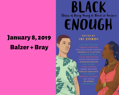 Black Enough: Stories of Being Young & Black in America, Ibi Zoboi, InToriLex