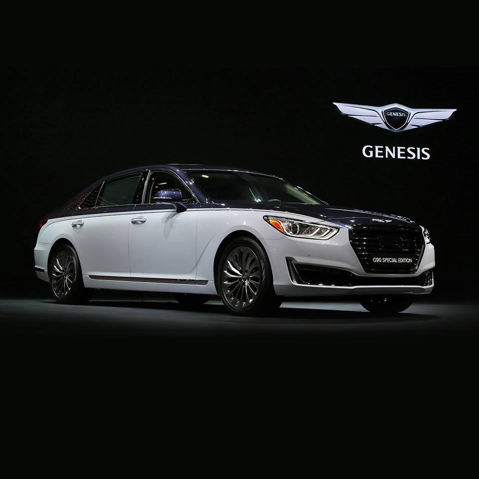Genesis G90 Special Edition Looking More Like A Bentley - carscoops.com