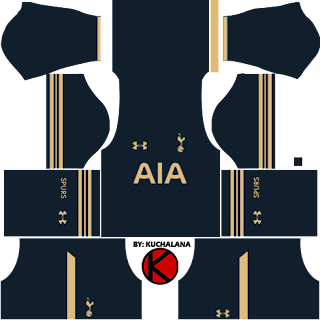 Tottenham Hotspur Kits 2016/17 - Dream League Soccer Kits and FTS15